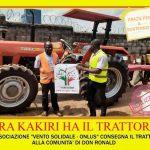 """Oggi 23 febbraio 2020 è stato realizzato il progetto di solidarietà """"Un trattore per Kakiri"""" !!"""